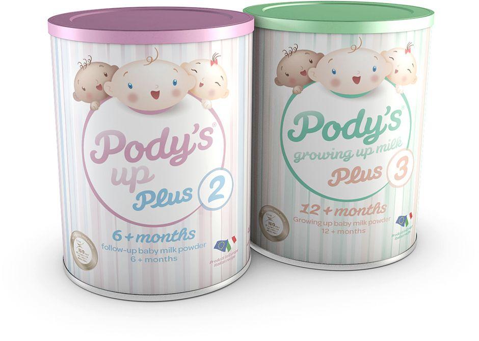Pody's UP Plus milk powders
