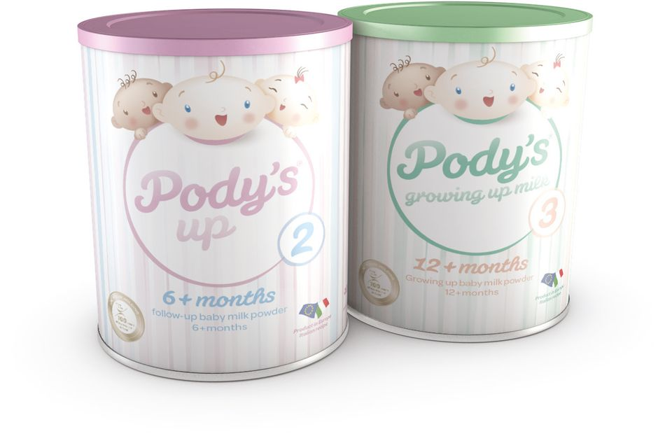 Pody's UP milk powders