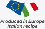 Produced in Europe - Italian recipe